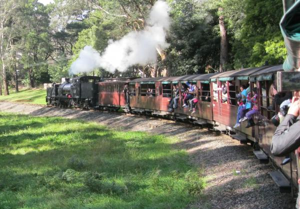 Puffing Billy, Dandenong Ranges